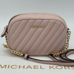 Michael Kors Sm Rose Oval Camera Xbody Bag
